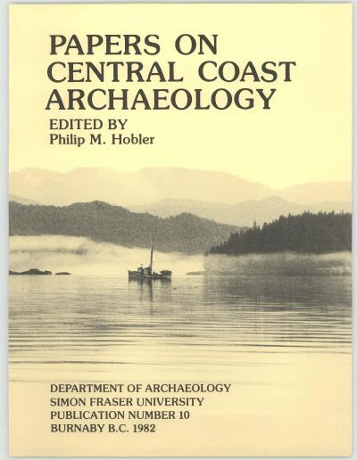 Cover for Papers on Central Coast Archaeology