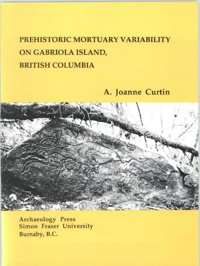 Cover for Prehistoric Mortuary Variability on Gabriola Island, British Columbia