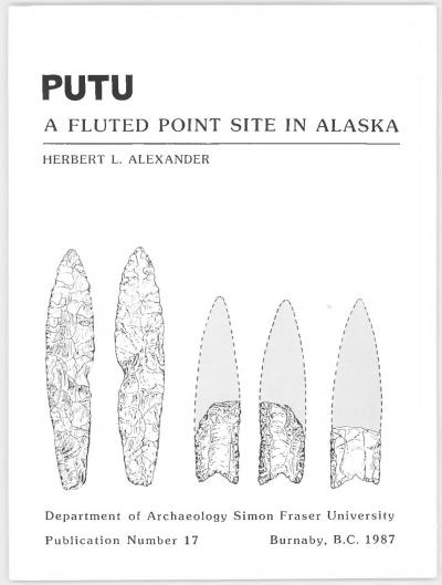 Cover for Putu: A Fluted Point Site in Alaska