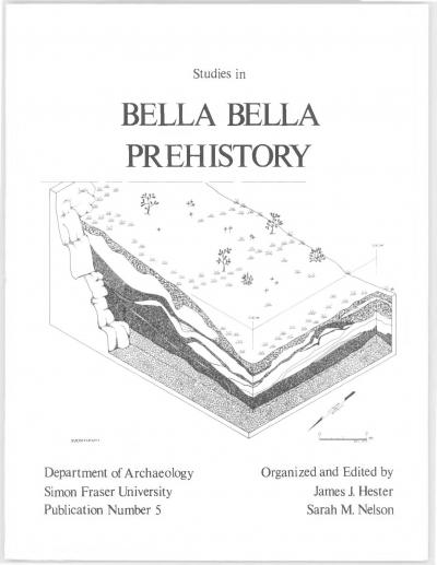 Cover for Studies in Bella Bella Prehistory
