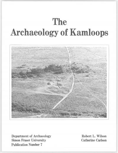 Cover for The Archaeology of Kamloops