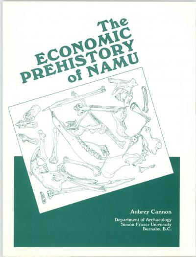 Cover for The Economic Prehistory of Namu