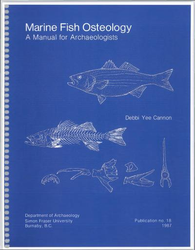 Cover for Marine Fish Osteology: A Guide for Archaeologists